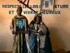 Kinmg of Ouassa Pehunco and Sariki Zongo, Salone d'Accueil, Pèhunco, Benin 2011. Aus der Ausstellung