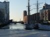 Hafencity im Eis