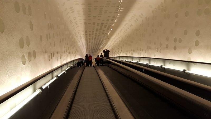 Rolltreppe Elbphilharmonie