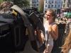 11 - Schon ein Medienprofi - Rebecca Lunderup steht der Presse Rede und Antwort