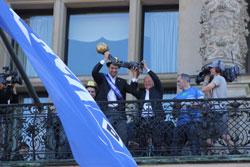 HSV EHFCL Rathaus-Empfang