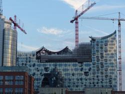 Elbphilharmonie Dachkonstruktion