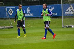 HSV-Training Mai 2014.