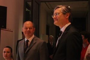 Olaf Scholz und Alexander Otto