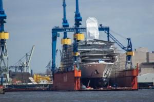 Abramovich-Yacht Eclipse im Dock