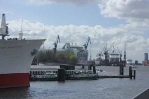 Treffen der Traumschiffe bei Blohm & Voss