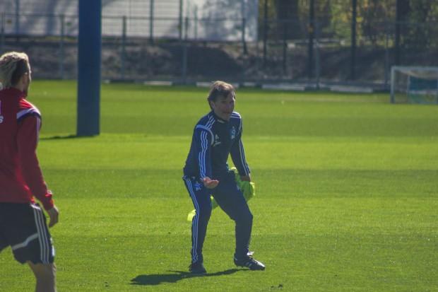 Bruno Labbadia beim HSV-Training