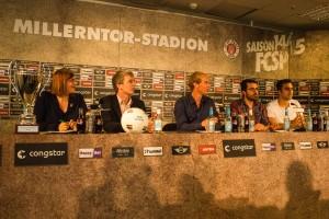 Pressekonferenz zur IGLFA Championship II
