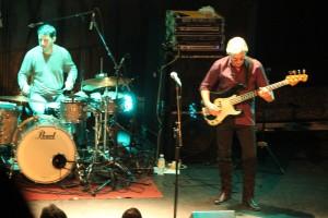 Sonny Landreth nur von Bass und Drums begleitet