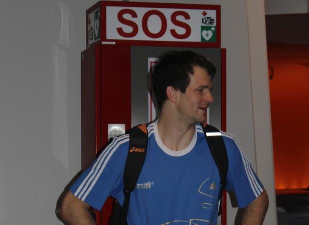 Spieler des HSV Hamdball Matti Flohr