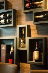 Der Wine-Testing-Raum