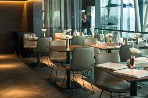 Das Interieur des Restaurant Heritage