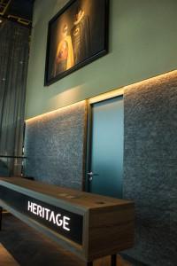 Der Eingangsbereich des Restaurants
