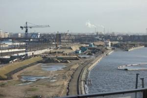 Das am Quartier südlichen Baakenhafen