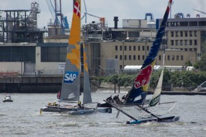 Extreme Sailing Series in der HafenCity