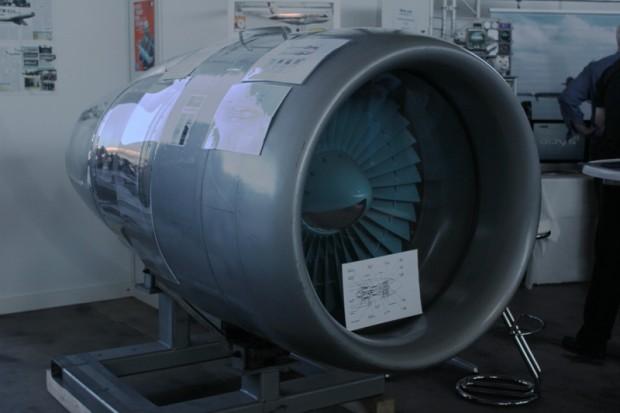 Flugzeug-Triebwerk