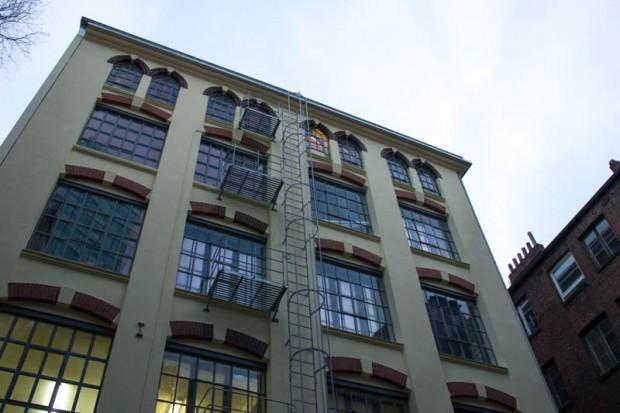 Die frisch sanierte Fabrique im Gängeviertel.