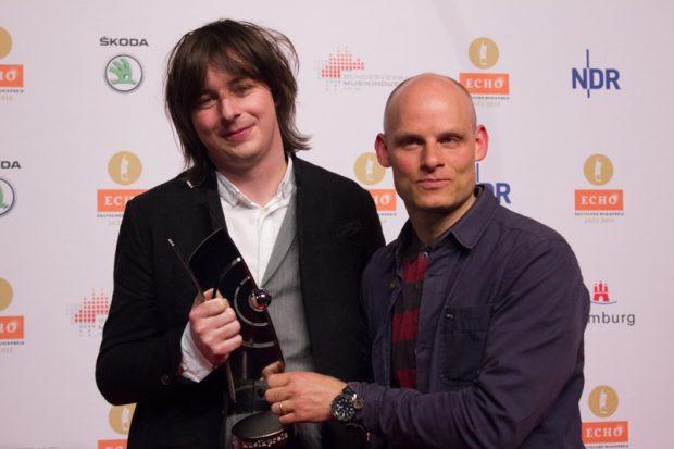 Michael Wollny und Eric Schäfer beim ECHO Jazz 2016