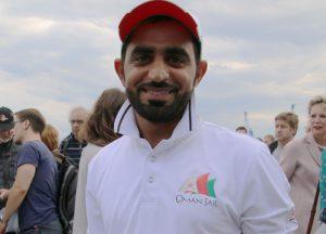 Badr Salim Al Quasabi vom Team Management von Oman Air