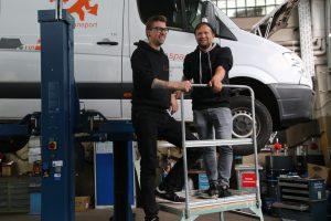 """Moritz Kromer und Kasper Kuhn von """"mobilespace"""""""
