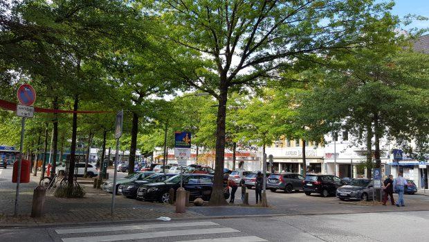 Der Harburger Marktplatz wird BID