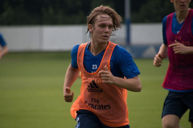 Alen Halilovic vom Hamburger SV