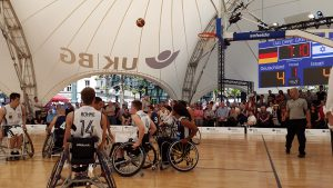Rollstuhl-Basketball in Hamburg