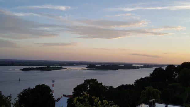 Die Elbe bei Blankenese