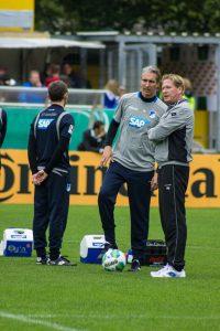 Markus Gisdol als Trainer  bei Hoffenheim