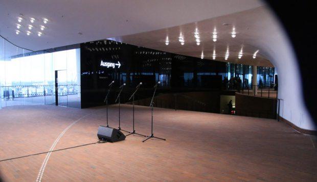 Die Elbphilharmonie Plaza