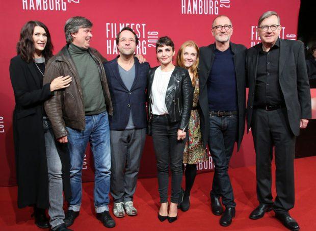 Friedemann Fromm, Jan Josef Liefers, Ivan Anderson, Franziska Brandmeier und Peter Lohmeyer auf dem Filmfest Hamburg