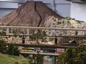 Der Vesuv im Miniatur Wunderland
