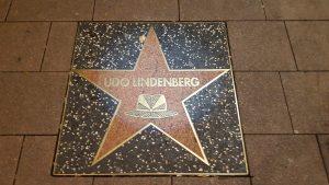 Udo Lindenbergs Stern auf der Reeperbahn