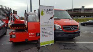 Vorstellung des C.A.R.E. Diesel am Hamburg Airport