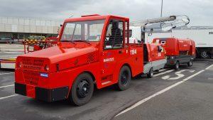 Mit C.A.R.E. Diesel betriebenes Fahrzeug am Hamburg Airport