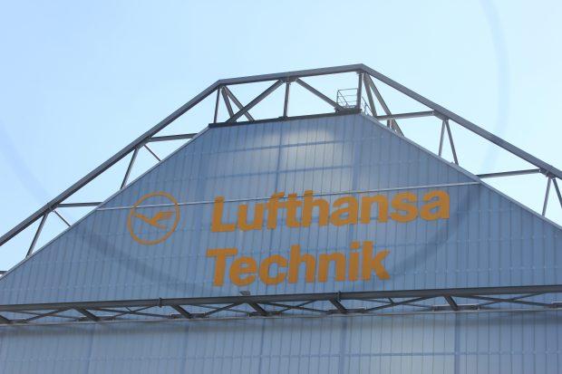 Lufthansa Technik am Airport Hamburg