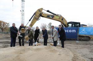 Baustart zm neuen Wohnquartier am Fischbeker Heidbrook