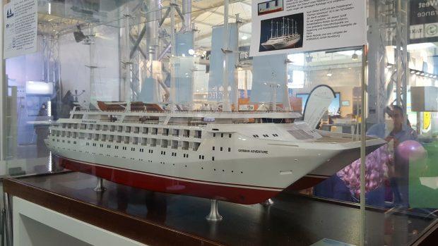 Umweltfreundliche Antriebe von Kreuzfahrtschiffen