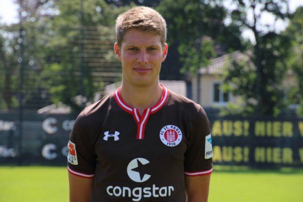 Daniel Buballa vom FC St. Pauli