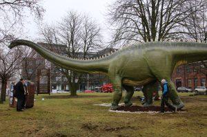 Langhalsdinosaurier aus dem Senckenberg Museum