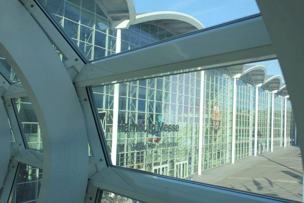 Die Messehallen in Hamburg