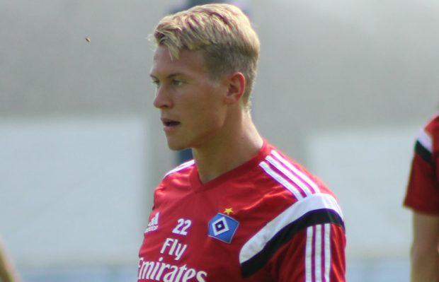 Matthias Ostrzolek vom Hamburger SV