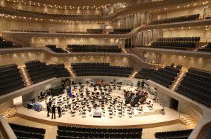 Der Große Konzertsaal der Elbphilharmonie