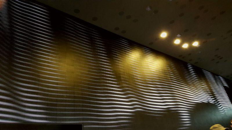Die Installation des Künstlers Till Nowak an der Elbphilharmonie