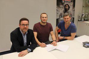 Marius Fuchs verstärkt den Handball SV Hamburg