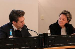 Prof. Dr. Michael Barsuhn und Claudia Lepping