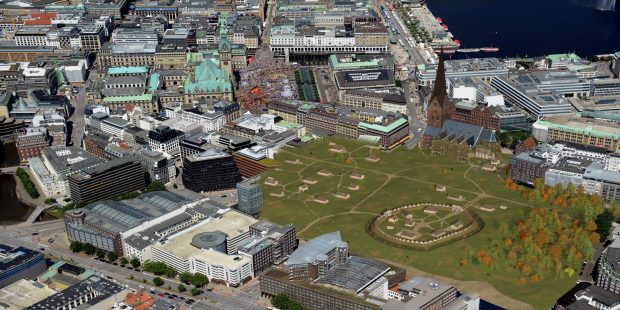 Visualisierung Domplatz Hamburg_AMH