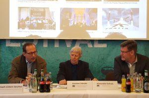 Christoph Lieben-Seutter, Karsten Jahnke und Alexander Schulz