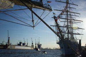 Großsegler beim Hafengeburtstag