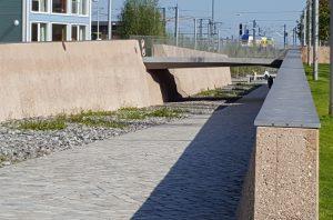 Fuge zum Gedenkort denk.mal Hannoverscher Bahnhof